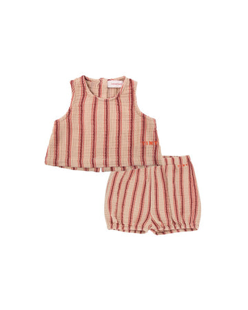 Retro Stripes Baby Set