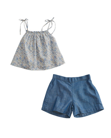 Liberty Cami Shorts Set
