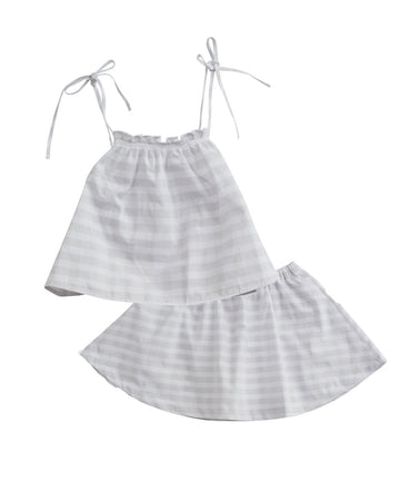 Gingham Cami Skirt Set