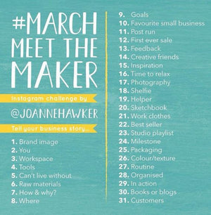 March 'Meet the Maker'