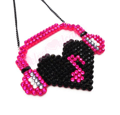 I Heart Music Necklace V.2
