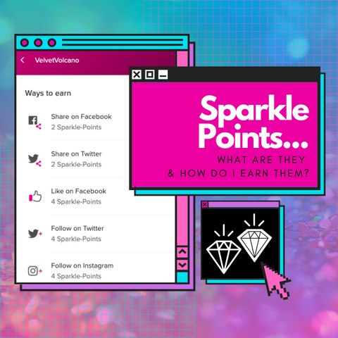 Sparkle Points - What are they and how do I earn them?