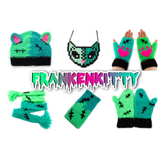 VelvetVolcano FrankenKitty Jewellery, Accessories and Apparel Set