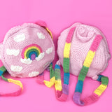 Pastel Rainbow Cloud Backpack