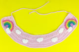 Pastel Rainbow Cloud Collar