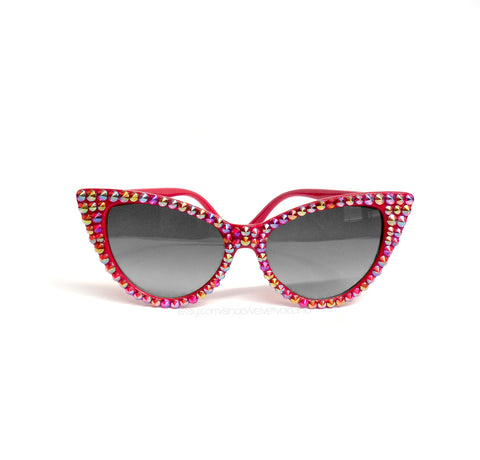 'SUNSET' Cat Eye Sunglasses