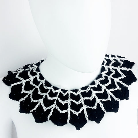 SOLD OUT  Spider Web Collar