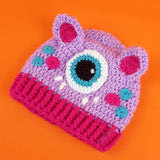 Crochet Cyclops Beanie for Babies and Children - Cute Monster Hat