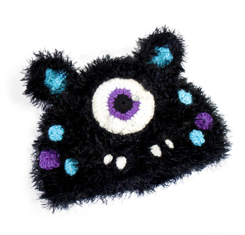 Cyclops Kitty Beanie (Furry)