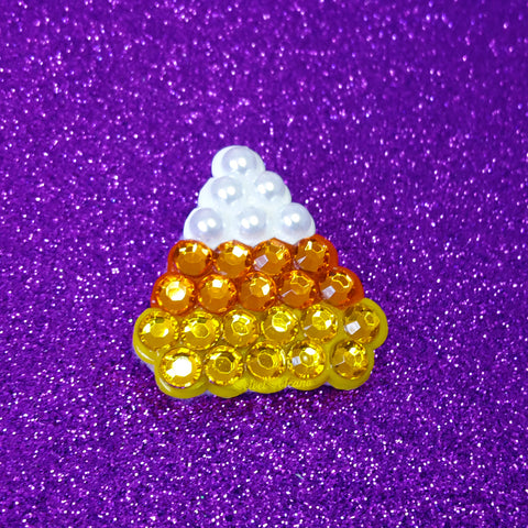 Candy Corn Brooch
