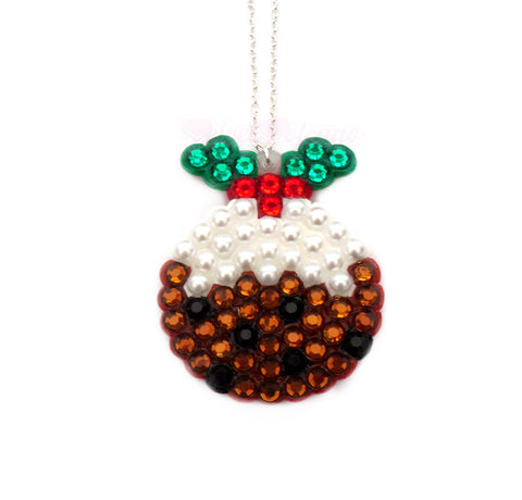 Christmas Pudding Necklace by VelvetVolcano