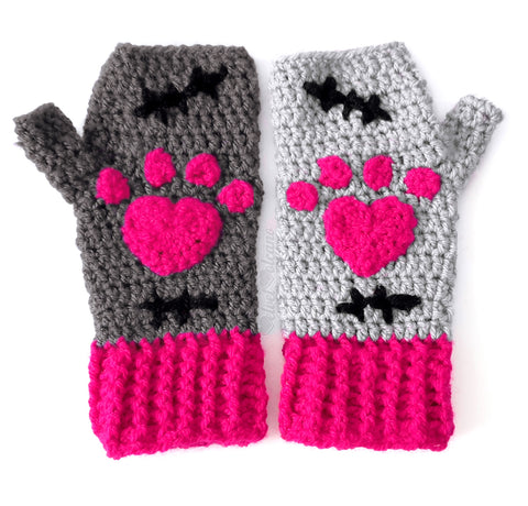 CorpseKitty V.2. Fingerless Gloves