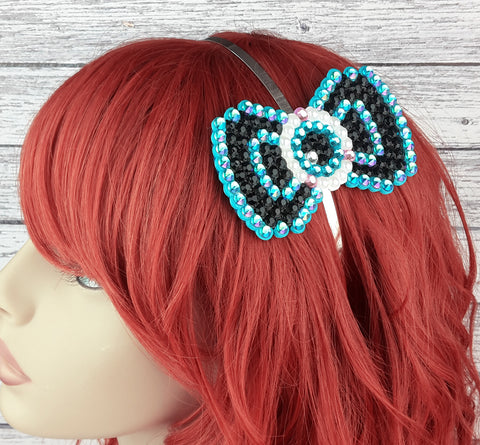 Eyeball Bow Headband