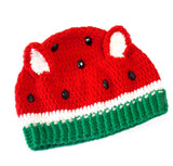 Watermelon Kitty Beanie