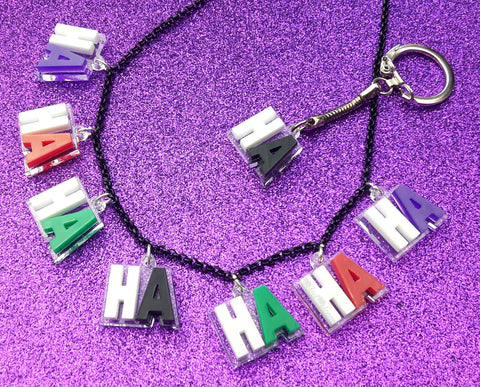 Why So Serious Charm Necklace