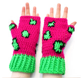 Leopard Fingerless Gloves by VelvetVolcano