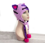 NecroKitty Ear Flap Beanie