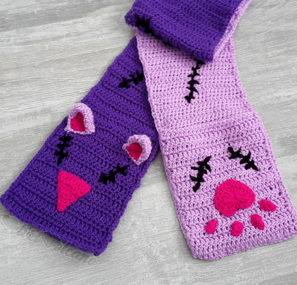 NecroKitty Pocket Scarf