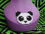 Panda Bear Necklace by VelvetVolcano - 3