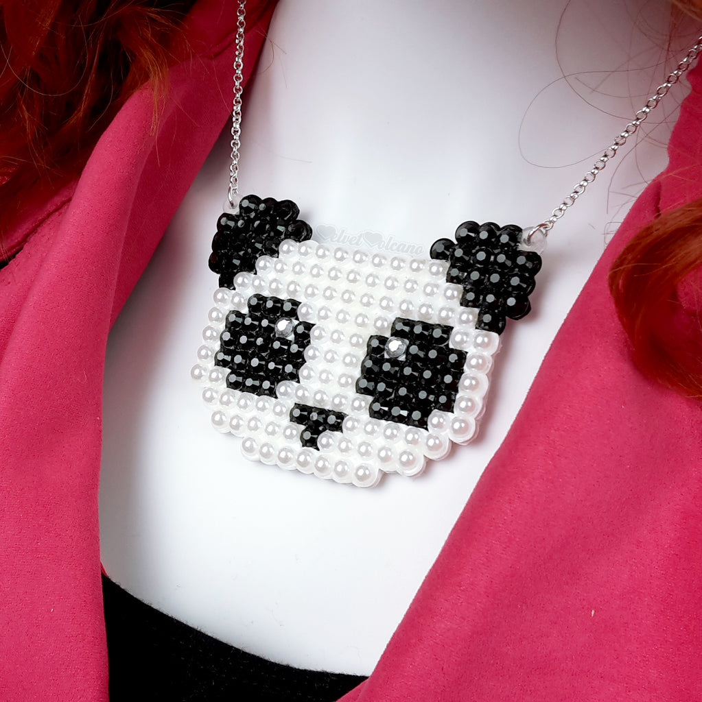Panda Bear Necklace