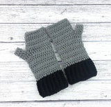 Duotone Fingerless Gloves
