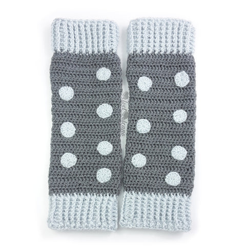 Polka Dot Leg Warmers