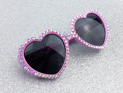 SAKURA Baby Pink Heart Shaped Sunglasses