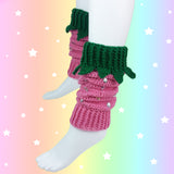 Strawberry Leg Warmers