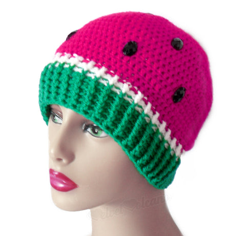 Watermelon Beanie by VelvetVolcano - 5