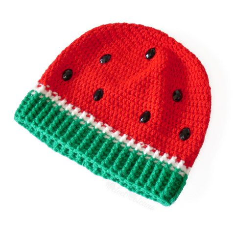 Watermelon Beanie by VelvetVolcano - 4