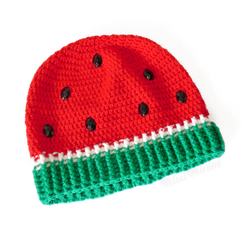 Watermelon Beanie by VelvetVolcano - 1