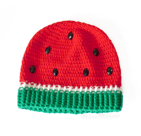 Watermelon Beanie by VelvetVolcano - 2