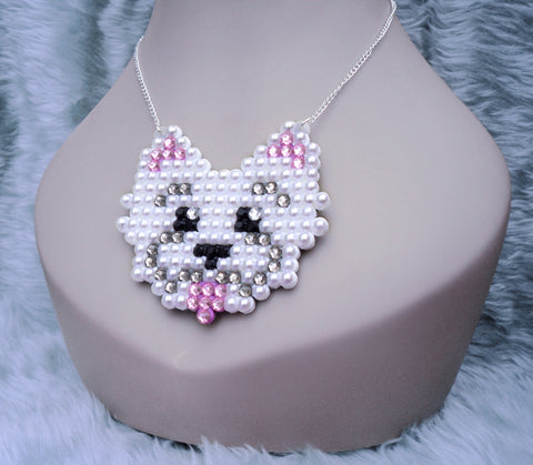 Westie Necklace by VelvetVolcano - 2