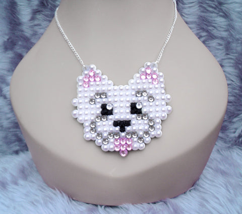 Westie Necklace by VelvetVolcano - 3
