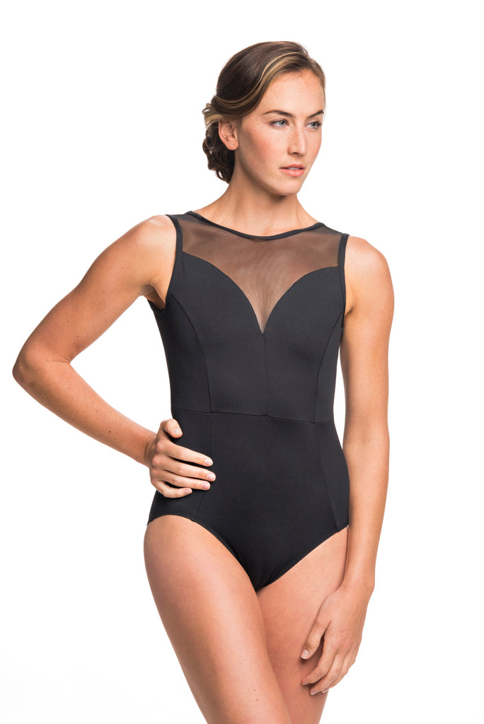 Ainsliewear Bianca with Mesh Leotard
