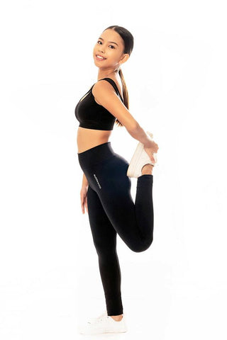 Limeapple Loved Seamless Leggings Black