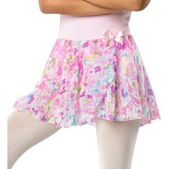 Danshuz Pastel Floral Pull-On-Skirt