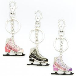 Bling Skate Key Chain