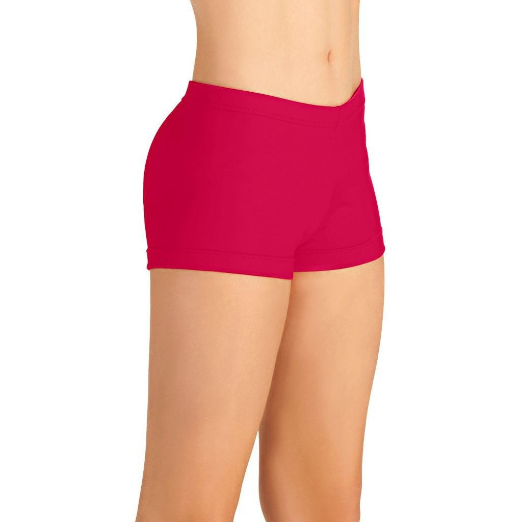 "4502 So Danca Adult Dance Shorts with 1.5"" Inseam"