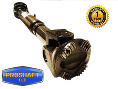 2007 Dodge Ram 3500 Front Drive Shaft Front View