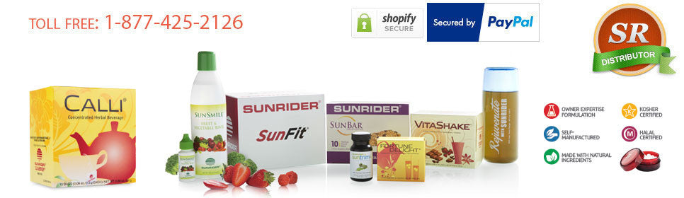 Sunrider Products Quick and Easy