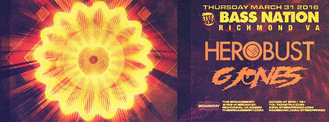 Herobust at The Broadberry