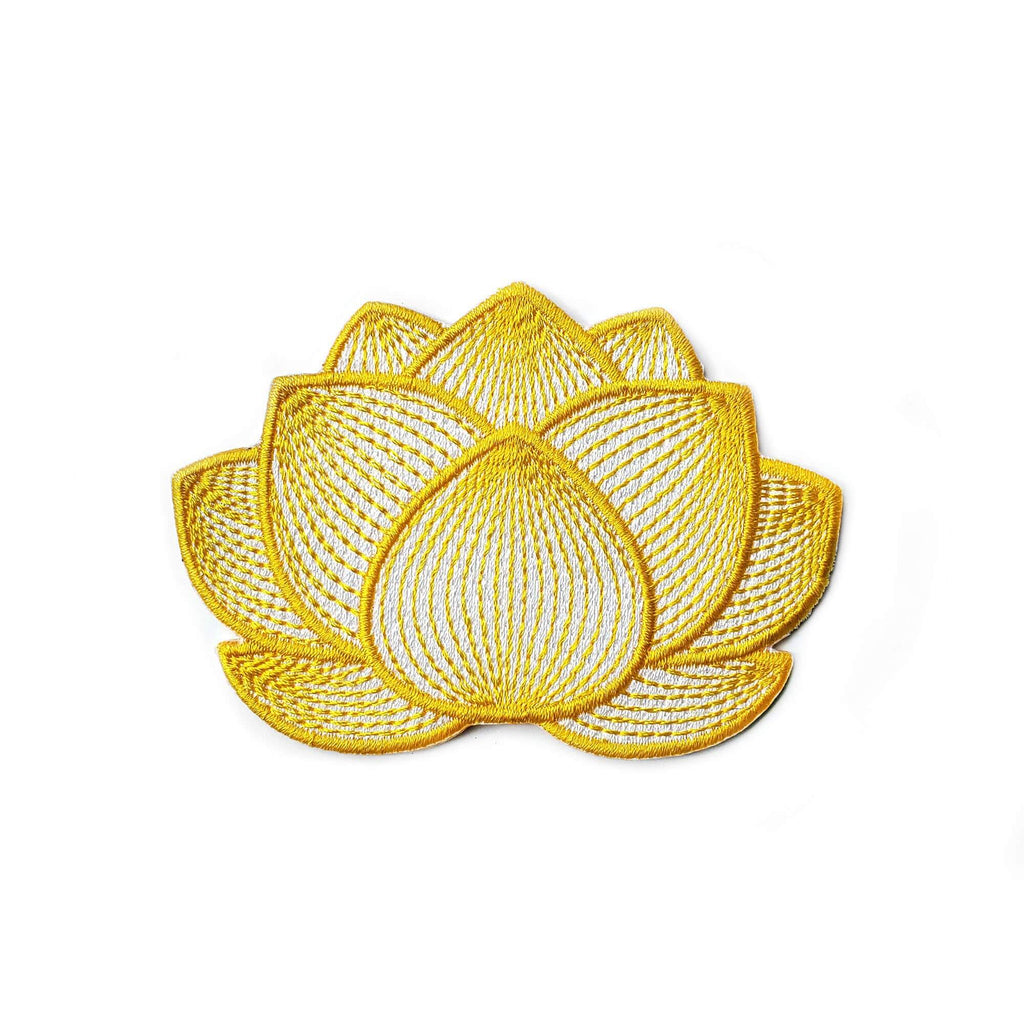 Lotus Flower Patch - Kolorspun Enamel Pins