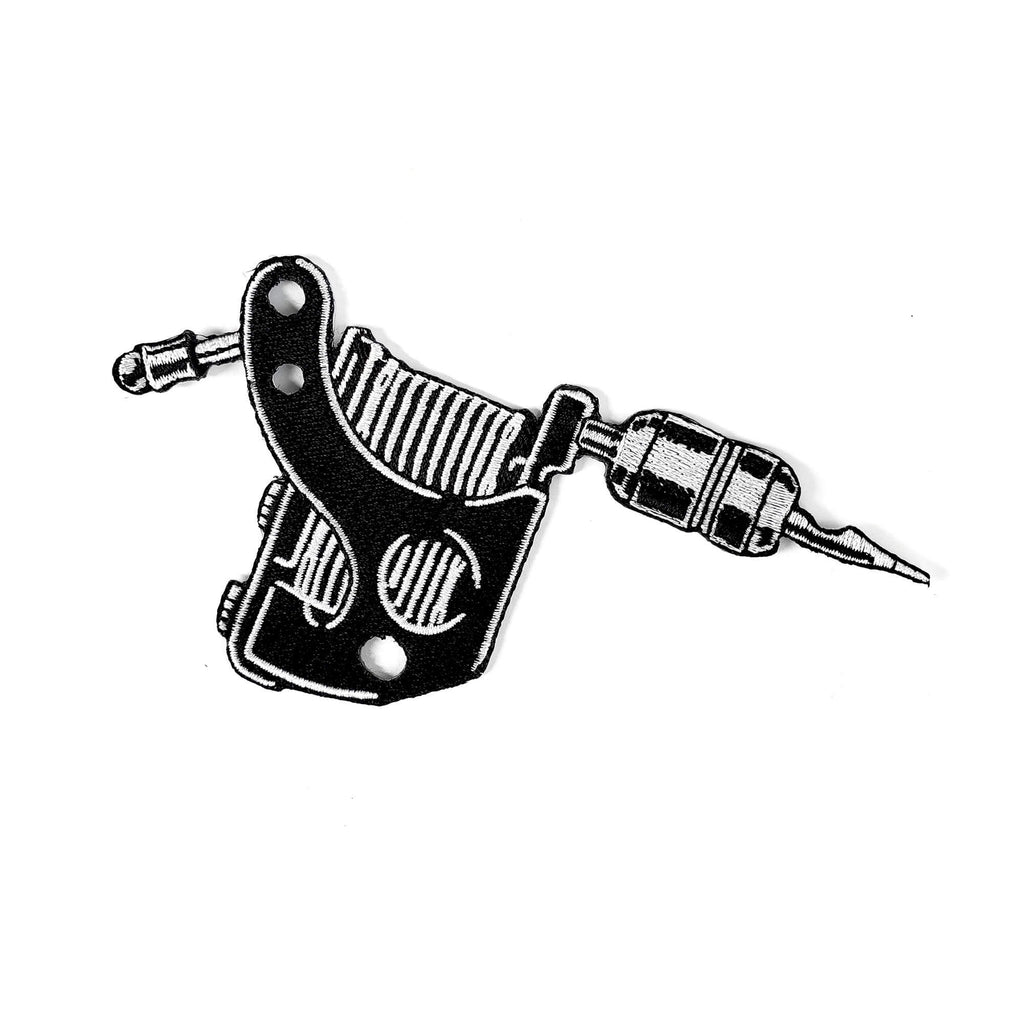 Tattoo Machine Patch - Kolorspun Enamel Pins