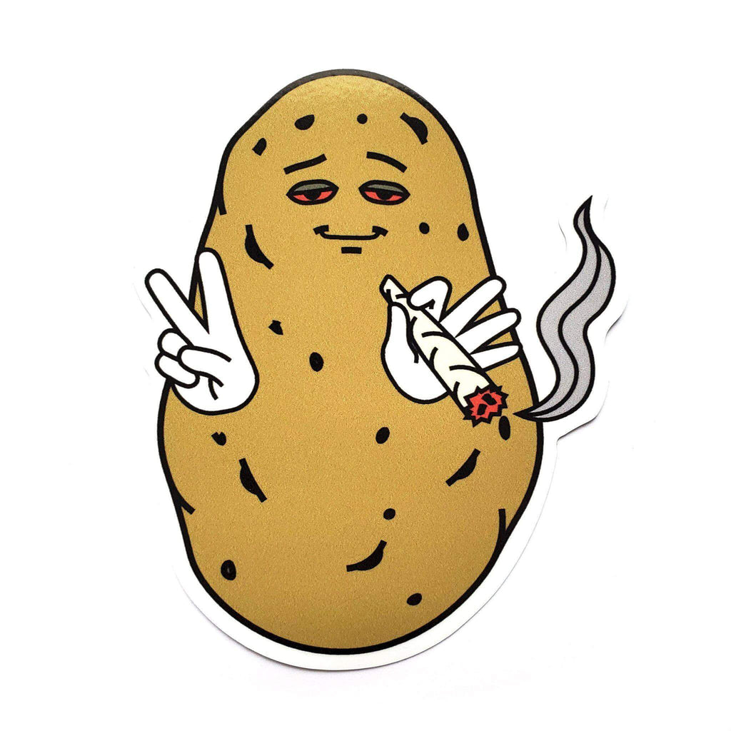 Baked Potato Sticker - Kolorspun Enamel Pins