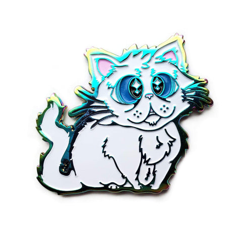 Floofy Kitty Pin