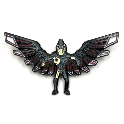 Phoenix Person Pin - Kolorspun Enamel Pins