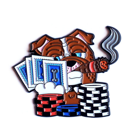 Poker Dog Pin