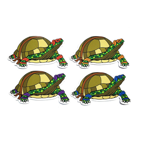 TMNT Sticker Set