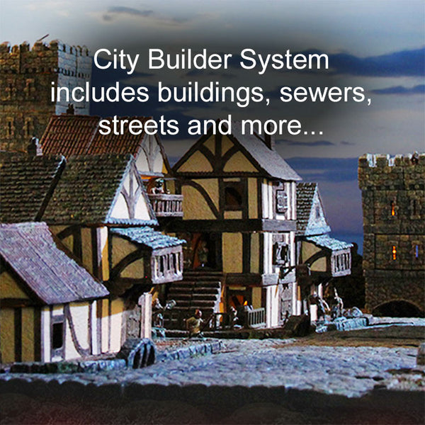 City Builder System Sets - Painted